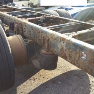 foto 6x2 undercarriage air retarder beds Renault